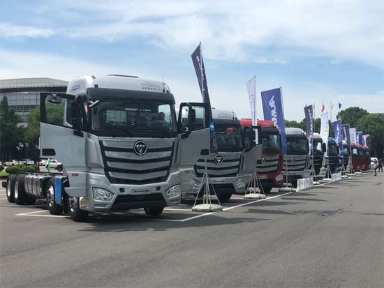 从技术自信到产品自豪,欧曼国六载货车全系产品上市