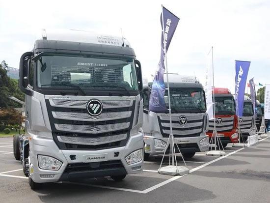 """用着""""不娇贵"""" 跑着更赚钱 欧曼国六载货车全系产品上市"""