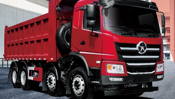 大运N6H轻量化标载自卸车