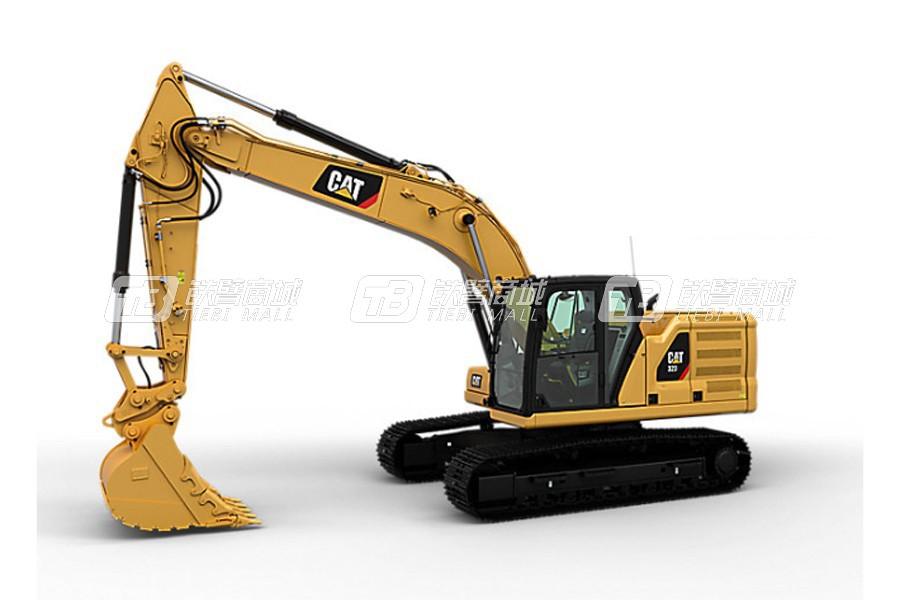 什么挖掘机性价比高?这款卡特彼勒挖掘机新一代CAT®323不能错过