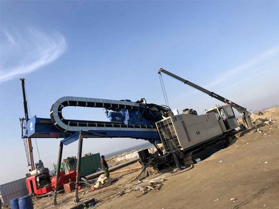 施工案例 | DDW-4000潍坊港海域穿越1500米