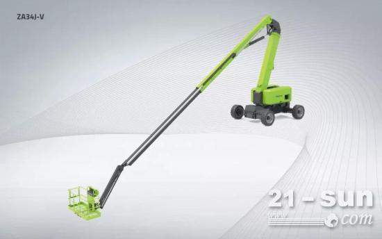 中联重科曲臂式高空作业平台ZA34J-V