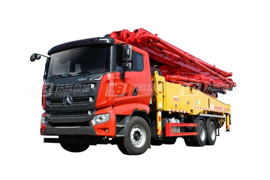 三一混凝土泵车SYM5340THB 490C-8报价及图片大全