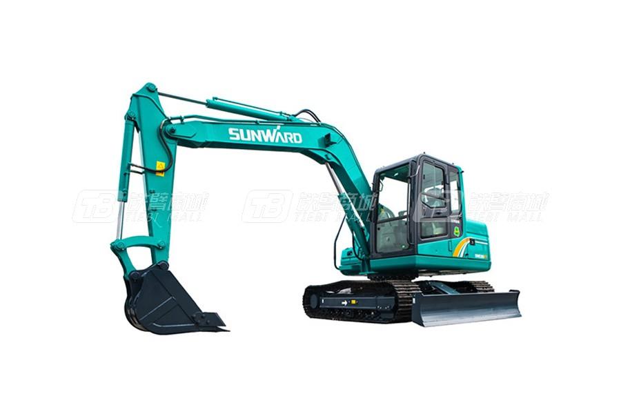 山河智能履带挖掘机SWE80E9使用感受