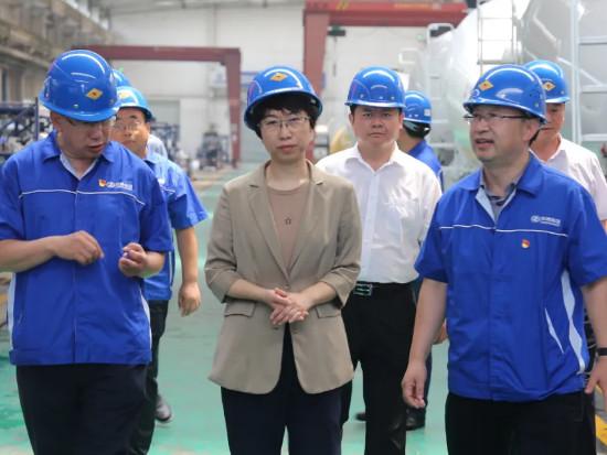 李长萍到中通新能源公司调研