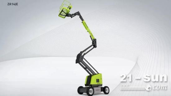 详细参数 | 中联重科电动曲臂式高空作业平台ZA14JE