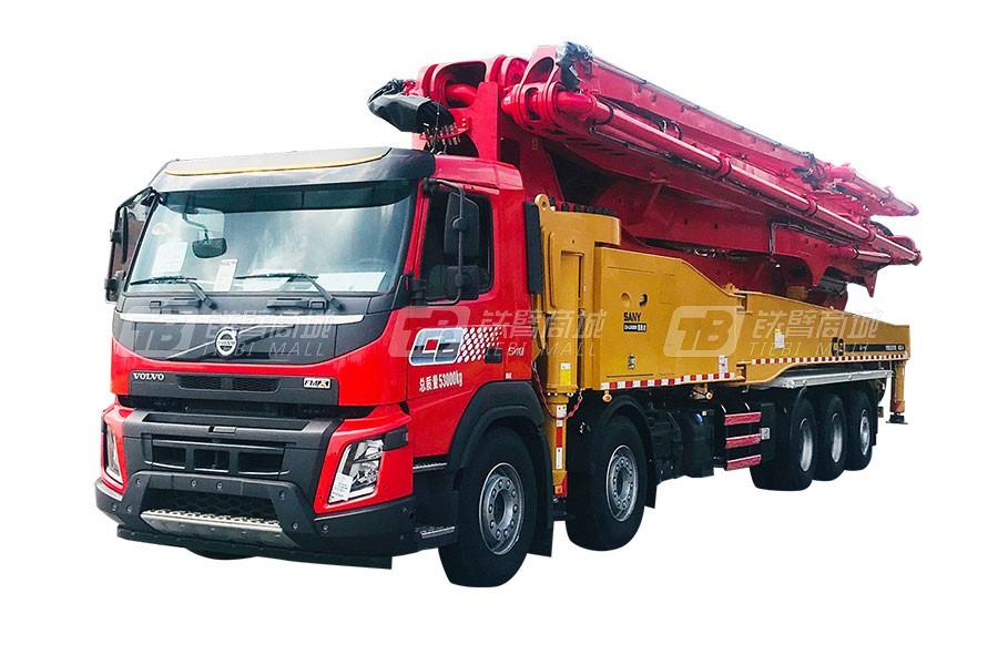 三一混凝土泵车SYM5535THB 620C-8产品特点介绍