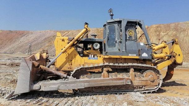山推推土機助力某大型銅礦