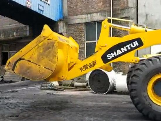 L58-C3装载机煤场作业工况