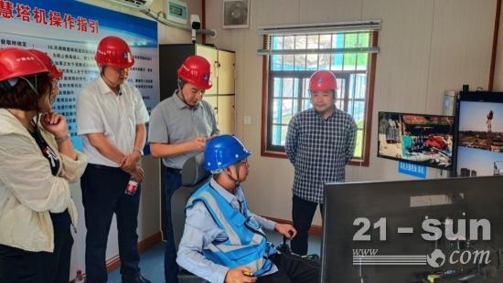5G塔機遠程智控系統成功應用!中聯重科智能化、無人化再邁步
