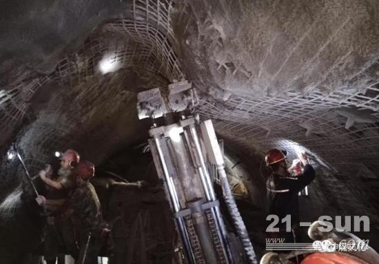 """308米!煤礦盾構機""""淮盾2號""""首月破記錄"""
