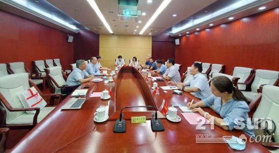 BICES 2021走進系列報道之吳培國秘書長一行走訪中國鐵建