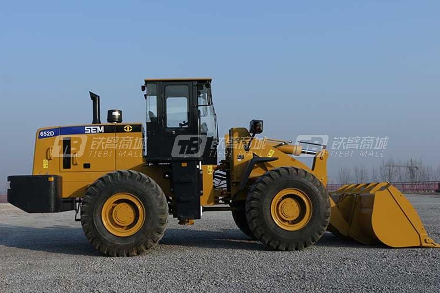 山工轮式装载机SEM652D用户评价怎么样