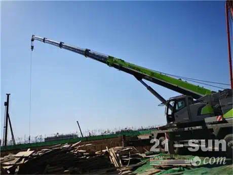 起重机的汽车吊该如何保养和应用钢丝绳