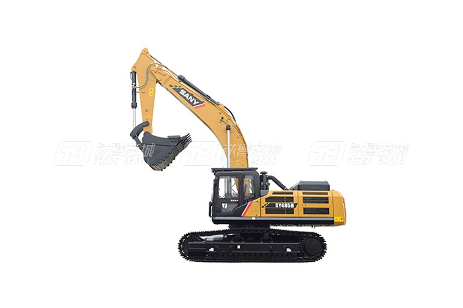 三一挖掘機SY485H用戶評價怎么樣