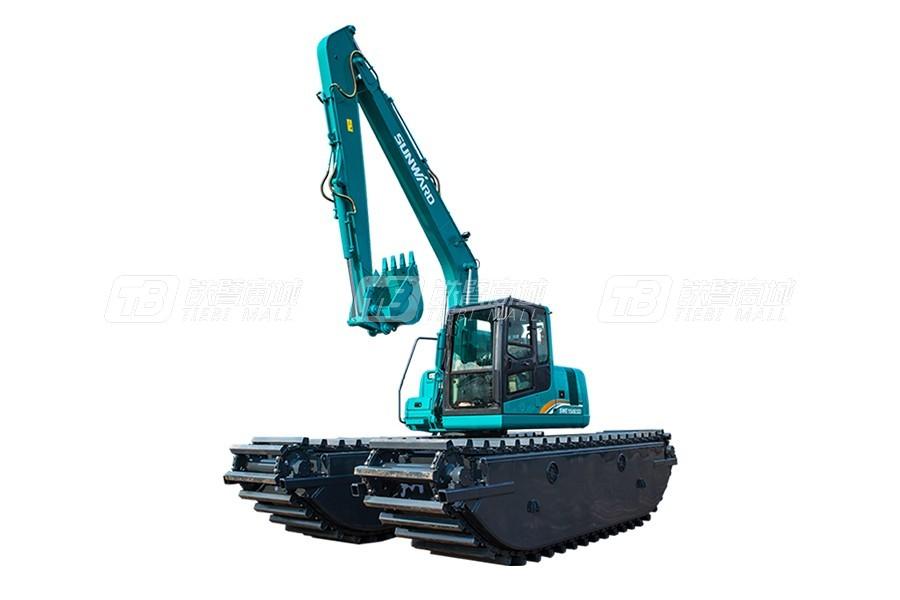 山河智能濕地挖掘機SWE150SD怎么樣?山河智能濕地挖掘機SWE150SD價格及詳細配置介紹