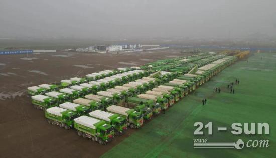 百輛中國重汽自卸車助力保定建設!哪款車這么給力?