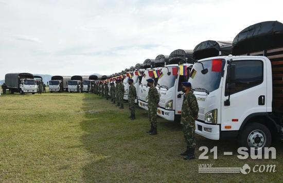 75輛國產卡車交付國外軍方 誰家產品這么厲害?