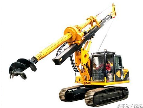 旋挖鉆機的基本構造及工作原理