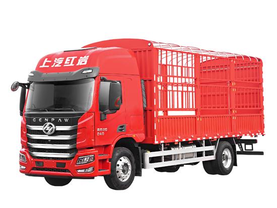 紅巖杰豹H6載貨車   滿格Buff(增益)加持,搞定運輸不再難!
