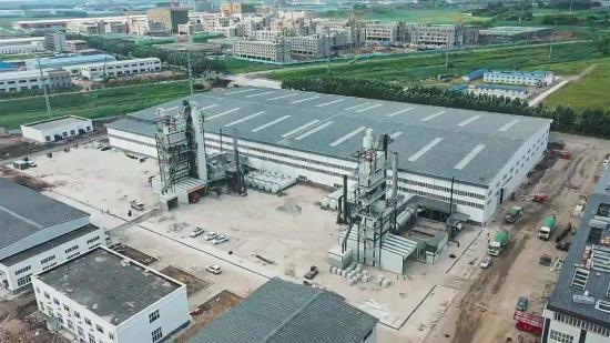 新站丨吉林省交通实业发展有限公司两套南方路机沥青拌合站投产