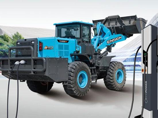 英轩重工YX656EV电动装载机精讲——电池篇