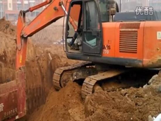 挖掘机视频