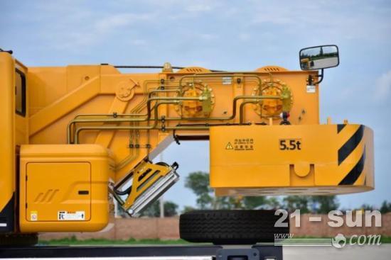 徐工QY40KC_1吊车,同级最长45m主臂,性能确实不错!