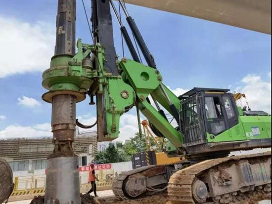 定制化贴合市场 为客户需求而生 | 泰信机械KR300ES低净空全液压旋挖钻机