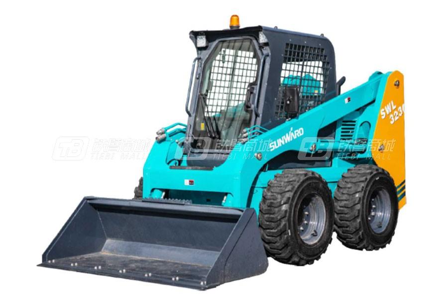 山河智能SWL3230轮式滑移装载机性能配置点评,值得买吗?