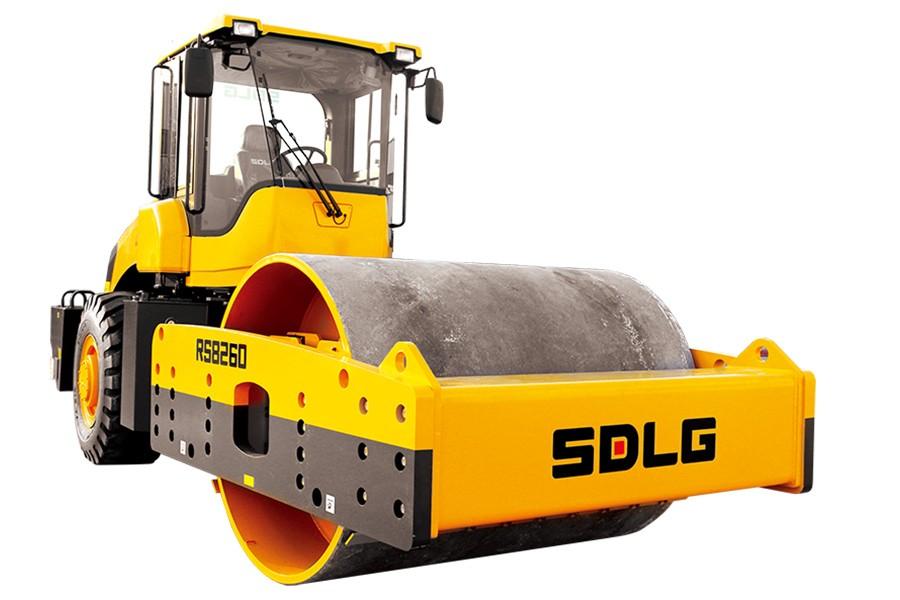 为什么大家都买山东临工单钢轮压路机RS8260