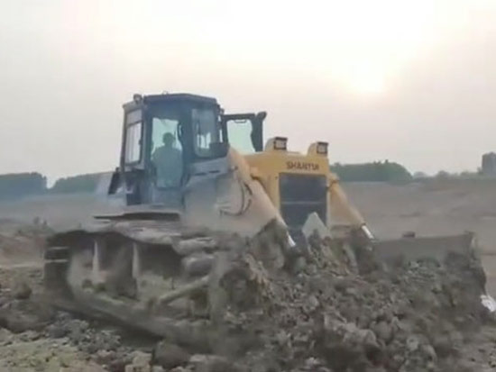 SD16TL推土机助力民生水利工程建设