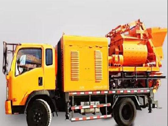 搅拌车载泵发展快速原因的分析