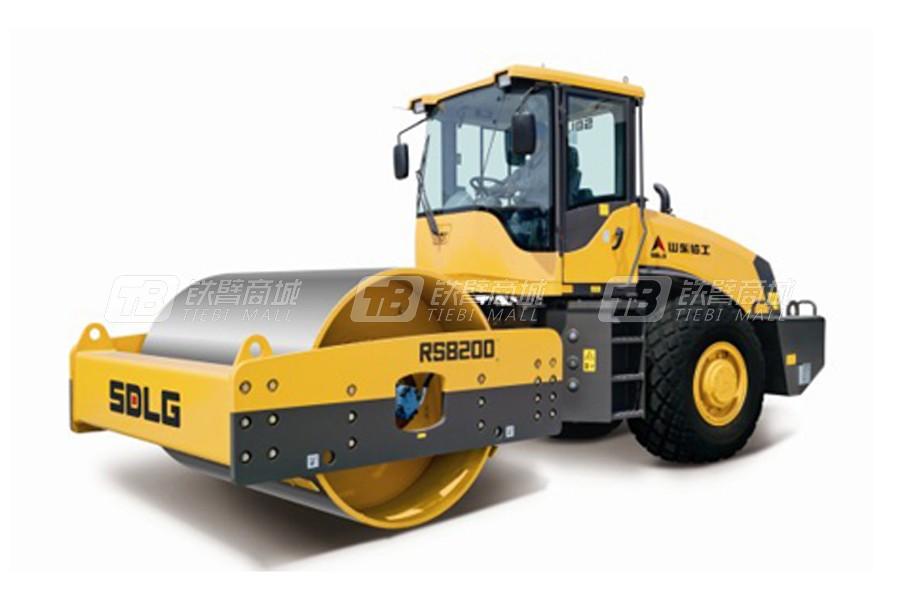 山东临工单钢轮压路机RS8200参数配置