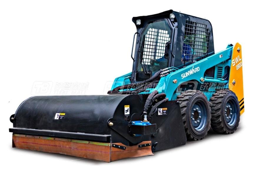 山河智能轮式滑移装载机SWL2830怎么样?山河智能轮式滑移装载机SWL2830价格及详细配置介绍