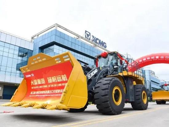 市场份额激增7个点!中国取代美国成全球工程机械老大