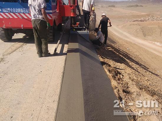 路肩滑模机施工对于混凝土的要求