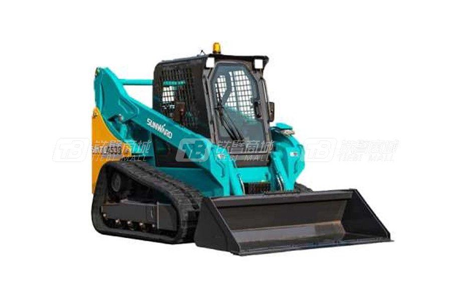 山河智能履带式滑移装载机SWTL4538产品特点介绍