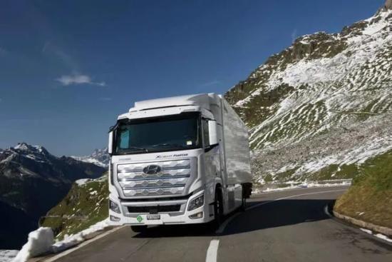 突破100万公里!现代汽车氢燃料电池重卡XCIENT瑞士上路