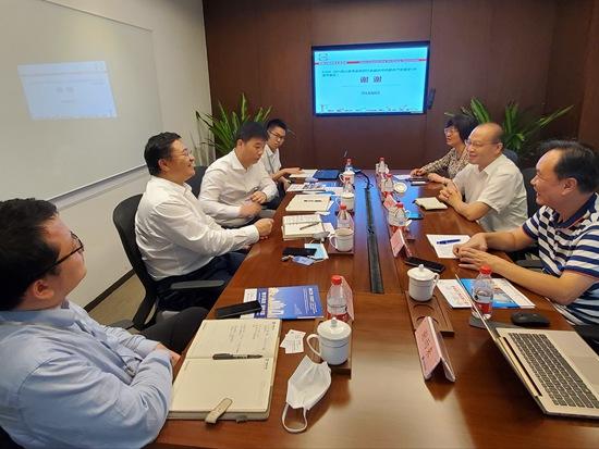 BICES 2021走进系列报道之吴培国秘书长一行走访中建集团