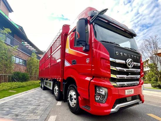 红岩杰狮H6载货车丨绿通运输路上好帮手,快来围观!