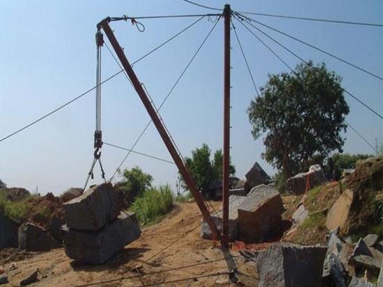 桅杆吊的组成系统由什么组成啊?