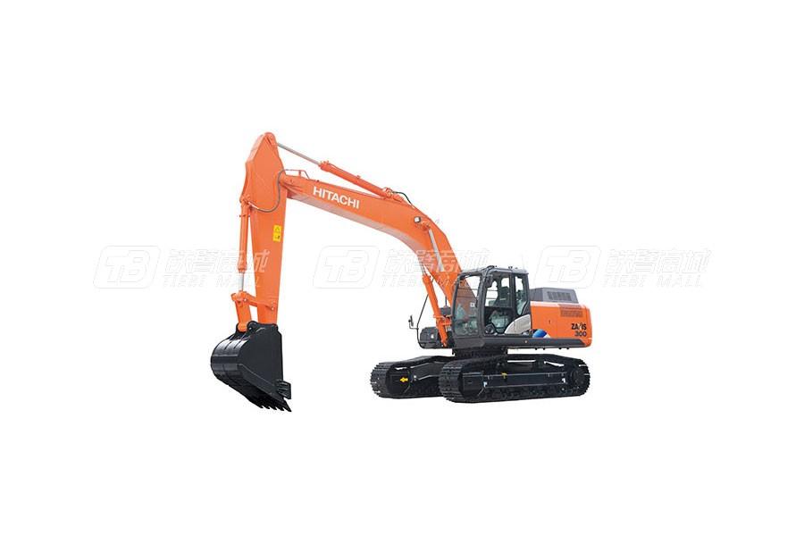 日立中型挖掘机ZX300-5A产品特点介绍