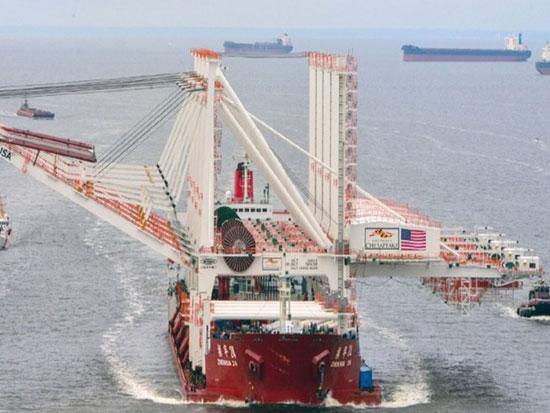 东升西降!昔日世界第一工业大国没落,向中国订购大型港口起重机