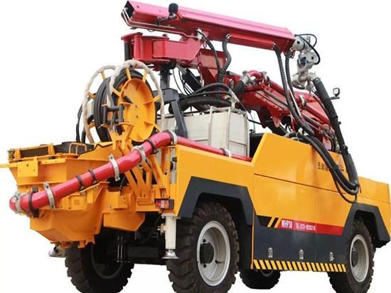 湿喷机煤矿井下用,湿喷机的用途