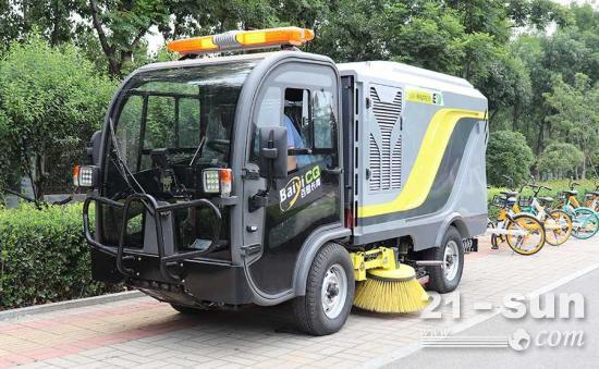 环保扫地车推动清洁设备行业新发展
