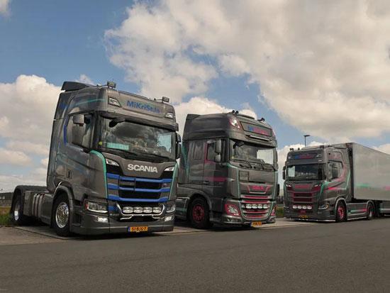 欧洲女性卡车司机越来越多,她们生存状况如何?来自荷兰的Desiree Bron一家的故事告诉你