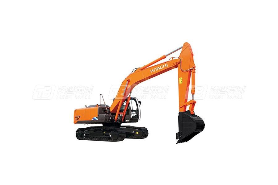 日立中型挖掘机ZX240-5A使用感受
