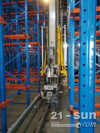 堆垛机应选用拖链来代替滑触线的情况