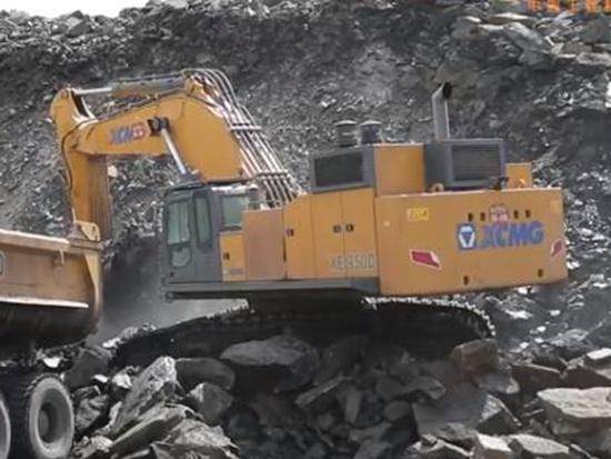 徐工XE950D矿用挖掘机产品测评